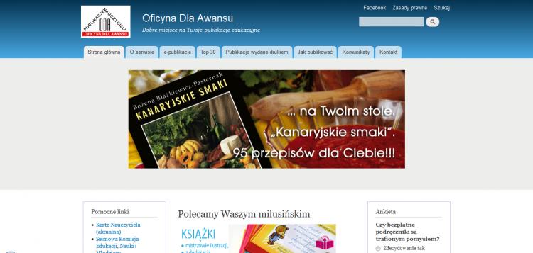 Serwis Publikacji Nauczycieli awans.szkola.pl